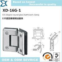 glass bathroom shower hinge XD-16G-1